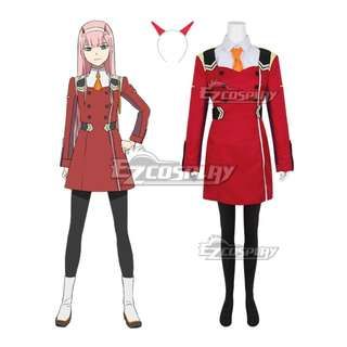 Looking for: Darling in the FranXX Zero Two Cosplay full set