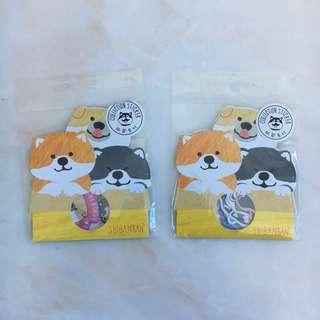 BN Dog Sticker Set
