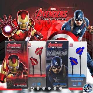 Marvel Avengers EBT925 Bluetooth 4.1 Stereo Headset