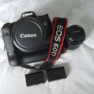 60D Canon camera set