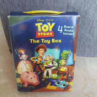 Disney Pixar Toy Story - TOY BOX - FRIENDSHIP (4 Board Books Inside)