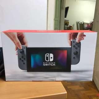 BNIB Nintendo Switch w/ local warranty