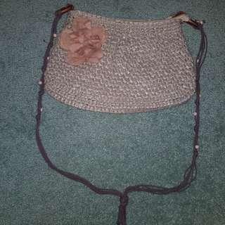 Flowery Shoulder Bag