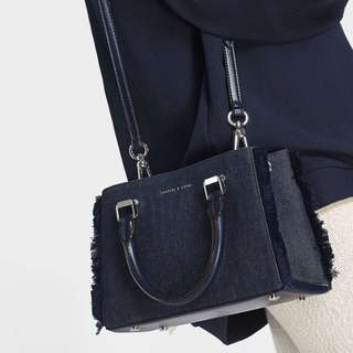Charles&Keith Denim Handbag