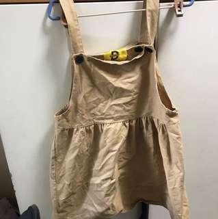 brown jumpsuit ulzzang
