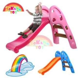 Mini Foldable Children Slide for Indoor and Outdoor + mini blocks