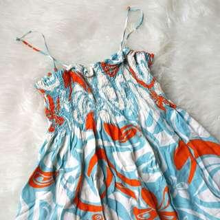 Dress pantai 10 -12 tahun #imlekhoki