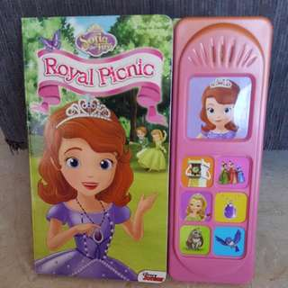 Disney Sofia The First Royal Picnic Play-A-Sound Board Book
