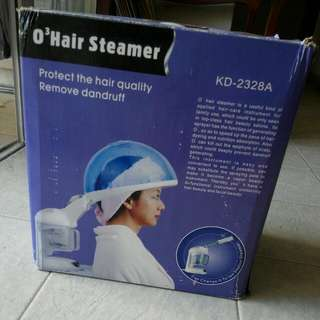 Hair and face steamer
