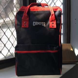 🚚 CAMPER 全新 後背包 包包 開口笑 backpack bag