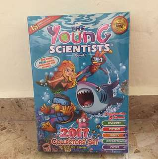 The Young Scientists  Level 1 / 2/ 3 (price as per set)