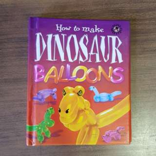 How to Make Dinosaur Balloons