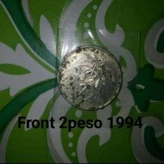 2 peso coin