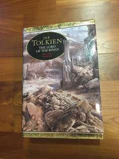 The Lord of The Rings by J R R Tolkien illustrated by Alan Lee