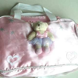 Girl Bag with Bear