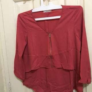 blouse bershka