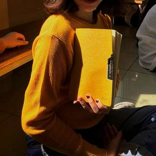 Casual Sweater ( color: mustard )
