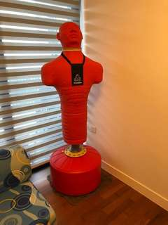 *Almost new* gym equipment / punching mannequin