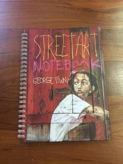 Street Art Notebook Georgetown