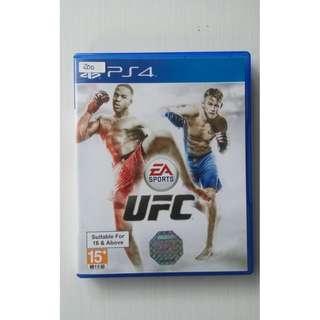 Kaset BD PS4 Original Game UFC