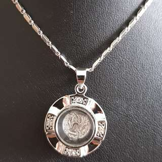 Chinese Dragon zodiac lucky charm pendant (时来运转生肖)