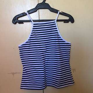 now™ Striped Halter Top