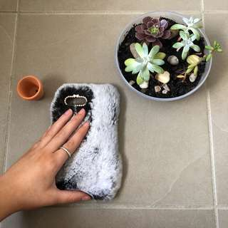 Fluffy Phone Case iPhone 7plus/8plus