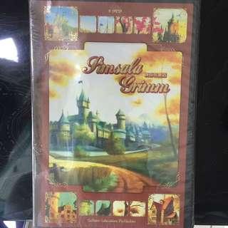 新格林童話DVD光碟(小紅帽、仙履奇緣共16個故事)