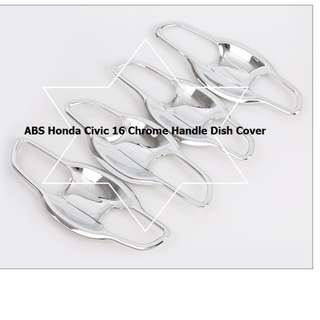 ABS Honda Civic 16 Chrome Handle Dish Cover