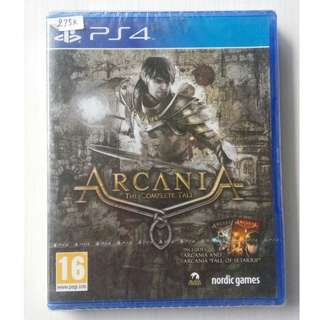 Kaset BD PS4 Original New Game Arcania The Complete Tales