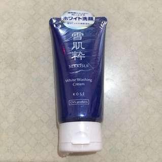 Kose雪肌精 White Washing Cream