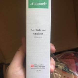 BRAND NEW Mamonde AC Balance Emulsion 150mls