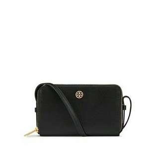Ready authentic ori TORYBURCH parker double zip mini bag