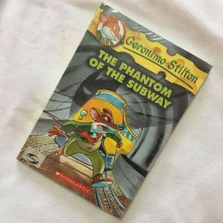 The Phantom of the Subway | Geronimo Stilton
