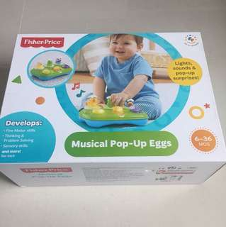 Fisherprice Muscial Pop-Up Eggs