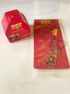 Alvin and the chipmunks phone strap