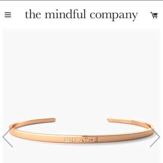 The Mindful Company Breathe Remainder Cuffs
