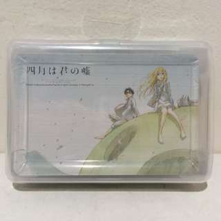 Your Lie in April Playing Cards Kaori Miyazono Kousei Arima