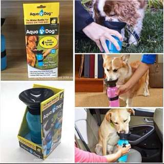 Aqua dog water feeder bottle