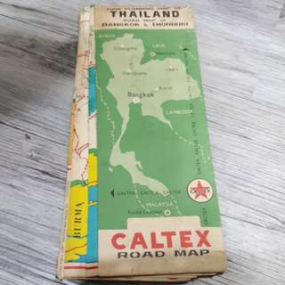 Tour thailand old map