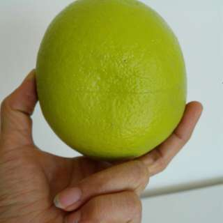 🚚 假柚子,水果裝飾