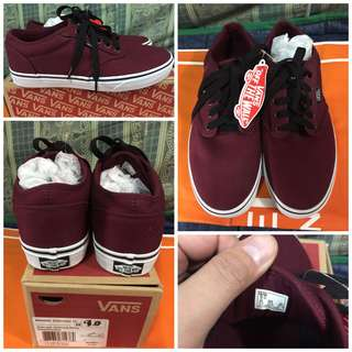 VANS Atwood Maroon US Size 9