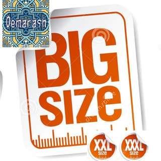 Tersedia Super Big Size