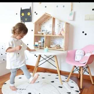 CNY Sale! Sleepy eyes padded play mat