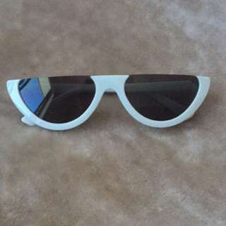 The Lana Sunglasses - White