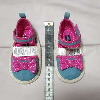 M&S baby girl shoes 6-12months