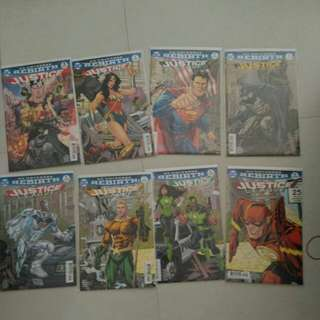 DC Justice League comics