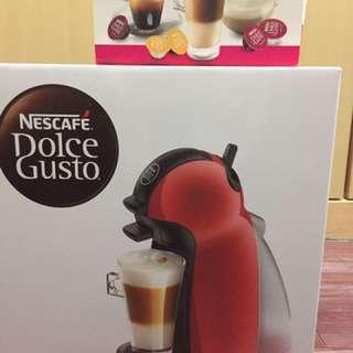 全新 雀巢膠囊咖啡機
