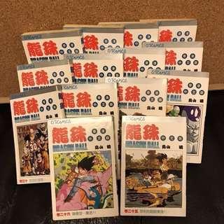1993-1994年中文版龍珠漫畫 25-38期 (共14本) 1993-1994 Dragon Ball comic (Chinese version) 25th-38th (14 in total)