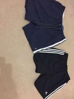 Nautica/ adidas shorts